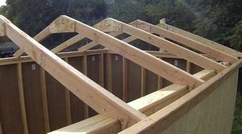 shed roof truss design do it yourself load calculator how to build lumber trusses toothpick
