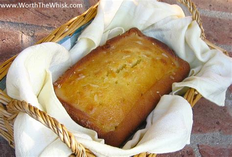glaze for pound cake coconut pound cake with meyer lemon glaze recipe dishmaps