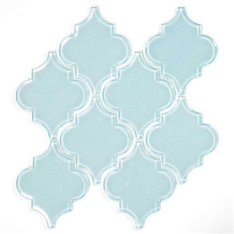 blue arabesque tile glass arabesque tile baby blue arabesque tile babies and glass tiles