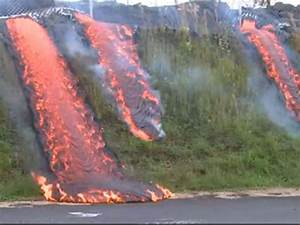 Lava Flow Continues To Sweep Across Hawaii