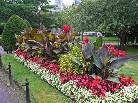 boston s garden flower bed gardens 2