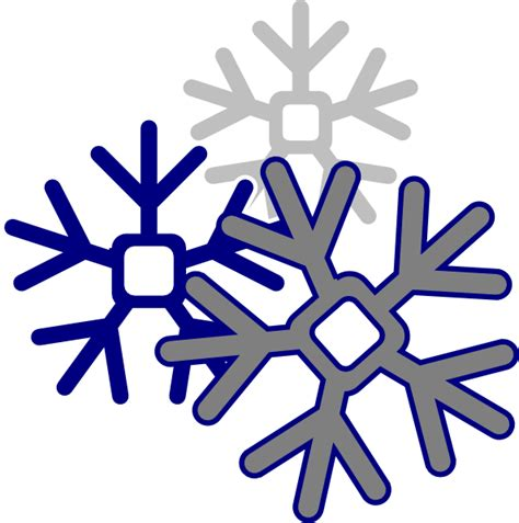 Transparent Background Snowflake Logo Png by Edited Snowflake Clip At Clker Vector Clip