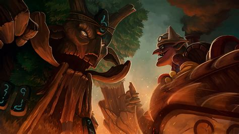 treant protector  timbersaw hd wallpapers dota