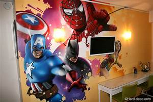 Dcoration Chambre Marvel