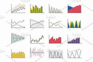 Design Diagram Chart Elements Vector Illustration Of