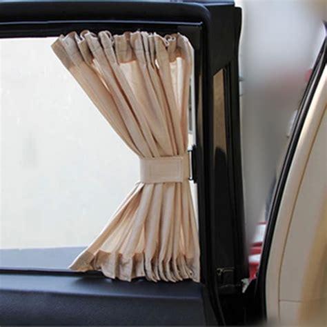 sale 2pcs 50l 50x45cm car sunshade window curtain