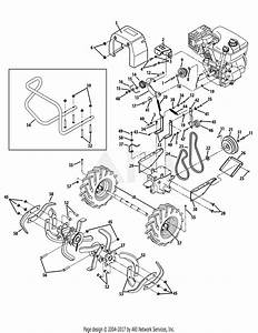 Troy Bilt 21ae662k766 Pony Es  2013  Parts Diagram For