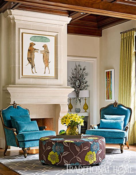 Atlanta Home Vibrant Interiors by Atlanta Home With Vibrant Interiors Traditional Home