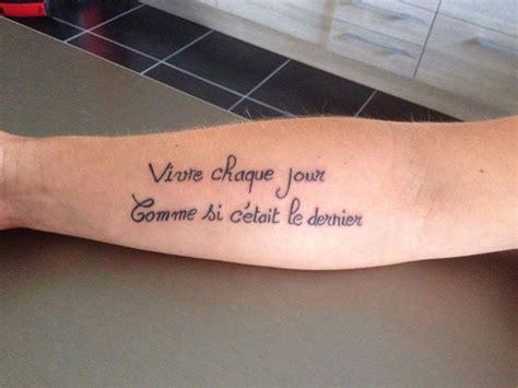 phrase sur la vie belle citation pour tatouage phrase