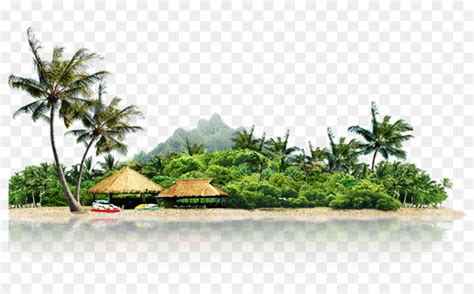 landscape icon cool summer vacation island png