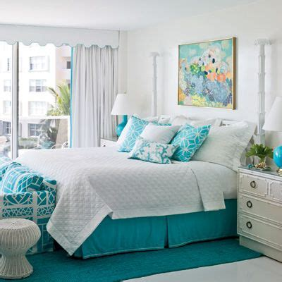 aqua color bedroom create an all turquoise room with cottage bungalow 10089   1a455dfb4d1aa37a6ba6cd09eb62f336