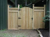 fence gate design Amazing Comfy And Functional, Amazing Comfy And Functional Fence Design Ideas With Wooden Fence ...