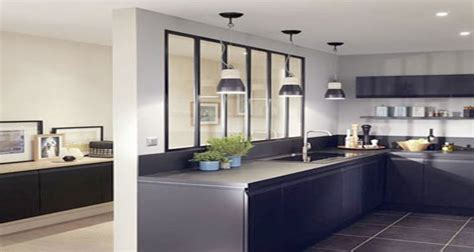 inter cuisines 8 déco cuisines aménagées avec une verrière intérieure