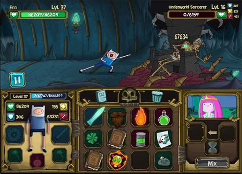 Cartoon Network Games Adventure Time Finn And Bones