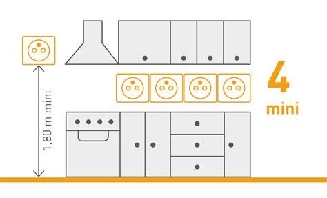circuit electrique cuisine norme nf c 15 100 les prises de courant espace grand