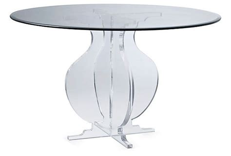 clear acrylic dining table sweeney 48 quot round acrylic dining table clear dining