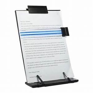 amazoncom kloud city rblack metal desktop document book With document holder stand for typing