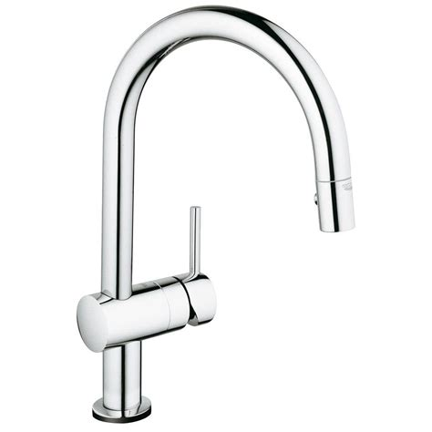 kitchen faucets with touch technology grohe minta touch single handle pull sprayer kitchen