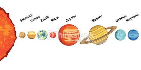 Solar System Vector Art