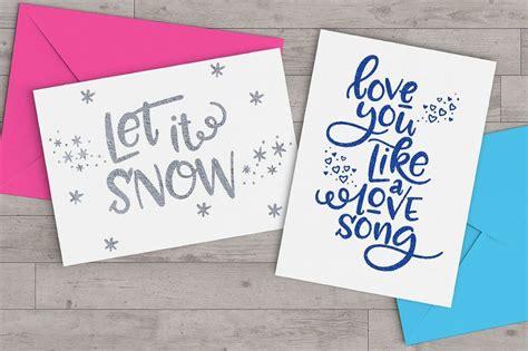 greeting card fonts  premium templates