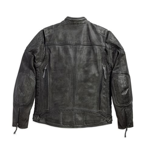 mens leather riding jacket harley davidson mens carboy leather riding jacket