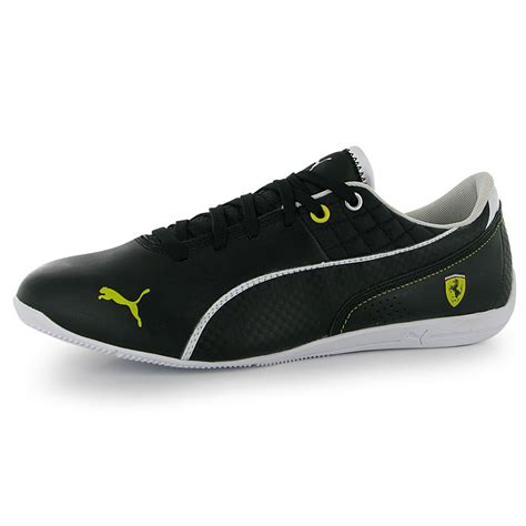 The design is inspired by the aerodynamic engineering and design synonymous with scuderia ferrari. Puma Drift Cat 6 Scuderia Ferrari F1 Mens Shoes Trainers ...