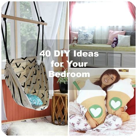 Room Decor Ideas Diy by 40 Diy Bedroom Decorating Ideas