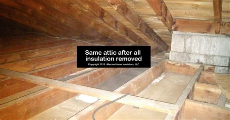 attic  zonolite vermiculite insulation removed