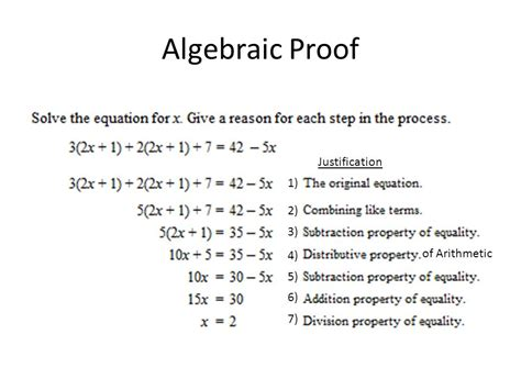 Class Notes Ch 2 Introduction To Logical Reasoning, Algebraic And Geometric Proofs, And Angle