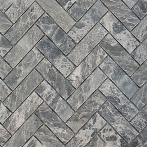 grey herringbone tile herringbone mosaic grey