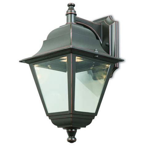 elliot led 1 light 14 quot rubbed bronze outdoor wall