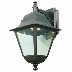 elliot led 1 light 14quot oil rubbed bronze outdoor wall With outdoor lighting fixtures at menards