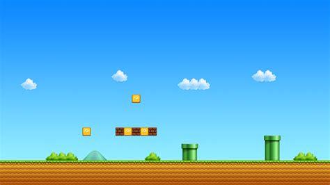 Nintendo video games mario super mario beginning retro
