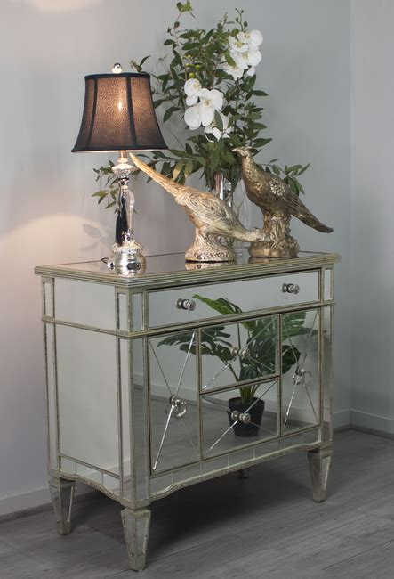 Antique Mirrored Nightstand by Antique Styled Mirrored Dresser Nightstand Mirrored