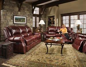corinthian alexander reclining leather sofa set With wayside sectional reclining sofa set