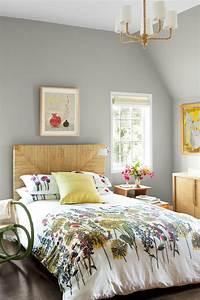 painting a bedroom 10 Gray Bedroom Decorating Ideas - Grey Paint Colors for Bedrooms