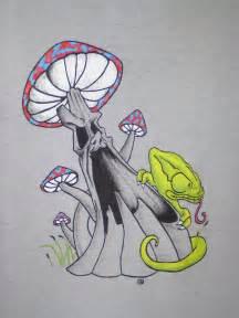 Crazy Mushroom Drawings