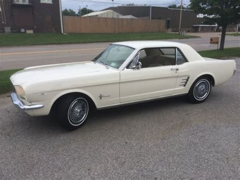 Glazier Nolan Mustang Barn by Seller Of Classic Cars 1966 Ford Mustang White