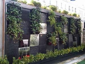 cascade mur vegetal mur vegetal pinterest recherche With ordinary decoration mur exterieur jardin 4 creer un mur vegetal en interieur
