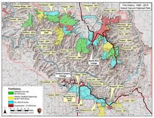 Fuller Grand Canyon Fire Map