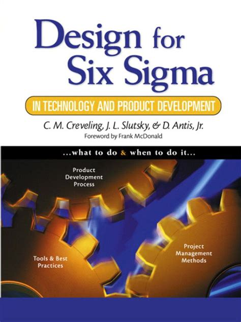 design for six sigma pearson education design for six sigma in technology and