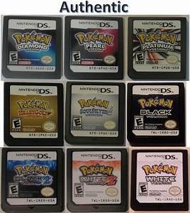 How to spot fake/counterfeit Pokemon games ...