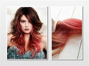 Tape Hair Extensions, Ombre, Dip Dye, from Ninas Creative ...