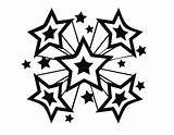 Star Coloring Pages Printable Shooting Perfect Stars Drawing Ninja Luther Martin King Silhouette Jr Getdrawings Flower Underwater Sun Outline Getcolorings sketch template