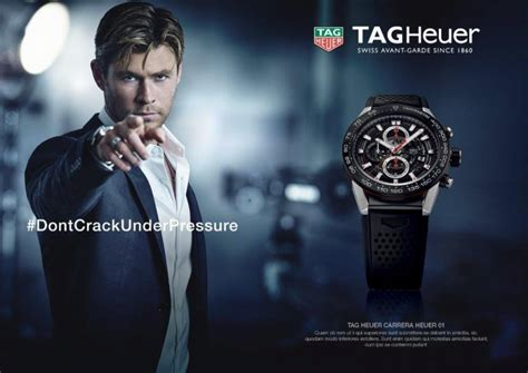 chris hemsworth fronts tag heuer campaign  fashionisto