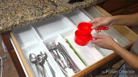 organizando en la cocina cajones de utensilios youtube