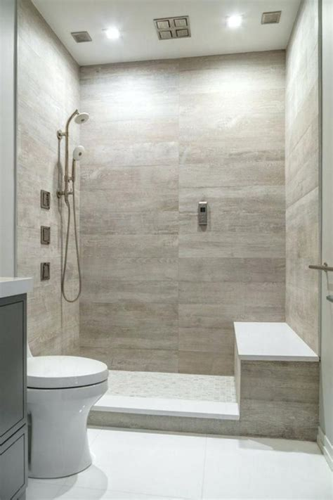 Small Bathroom Large Tiles by Image Result For Large Tiles Shower Horizontal Niche