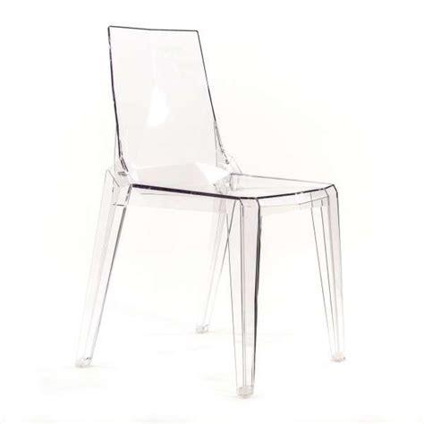 Chaise Moderne En Polycarbonate Transparent  Ice 4