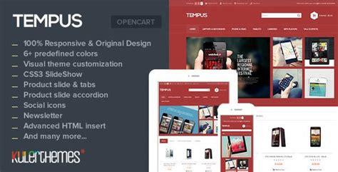 shopping tempus   stylish opencart theme  mobile