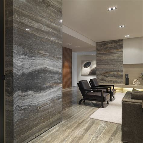 slate floor kitchen silver grey scabos travertine 2298